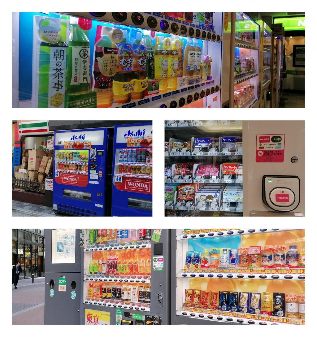 robots in the vending machines