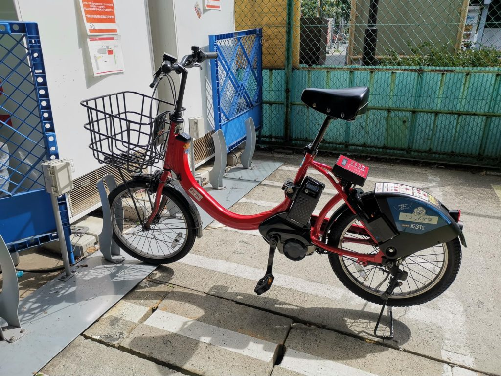 The Docomo bike - finding it was the start to all my woes