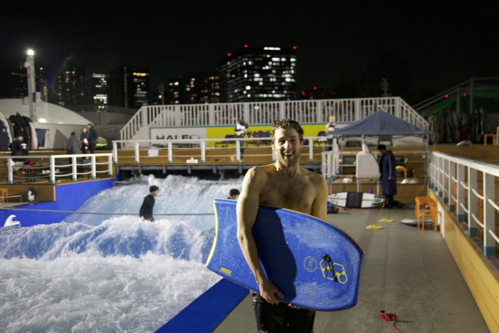 bittersweet victory: achieving a 360 degree turn in the freezing water without a wetsuit