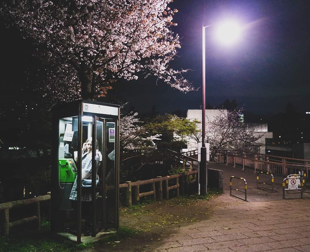 DISTANCING in Tokyo - What You Can Learn About Life in the Shadows / Hanami in the park after dark