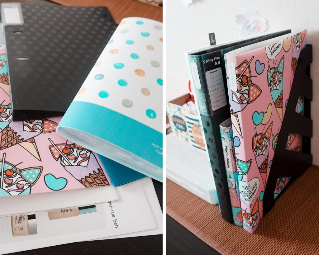 quirky file organizers to keep things in place